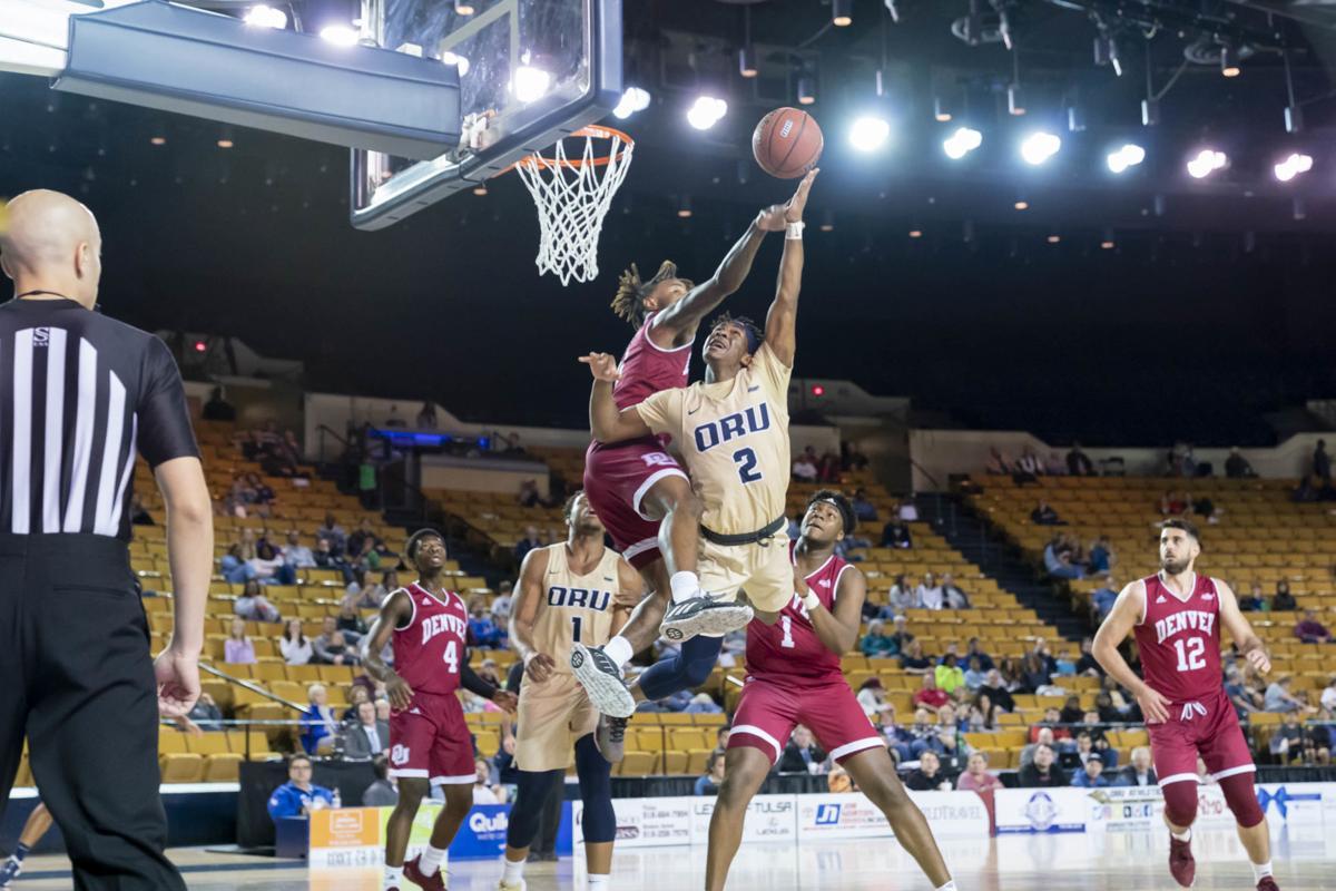 Oral Roberts University faces Denver - Men's Basketball
