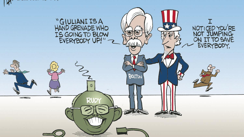 Cartoon Hand Grenade Grenade