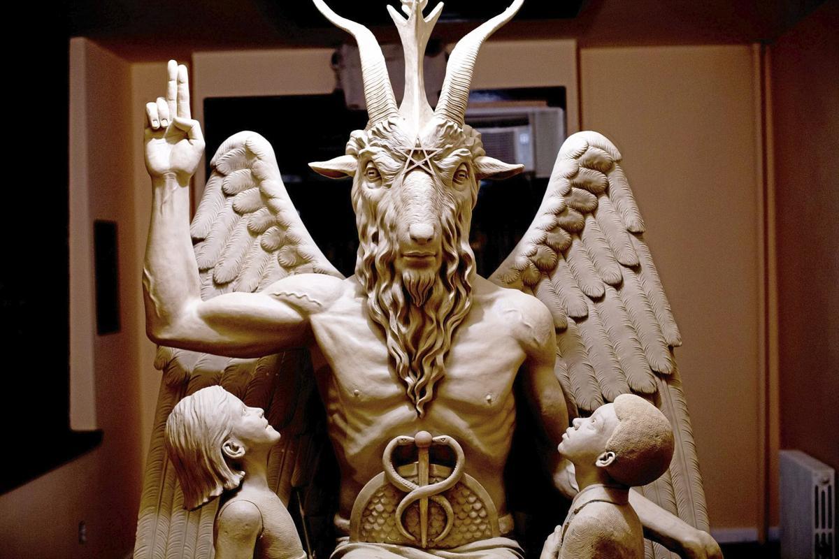 Satanic monument headed for Oklahoma or Arkansas to be ... - photo#3