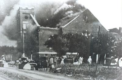 Tulsa Race Massacre: Mount Zion burns on June 1, 1921