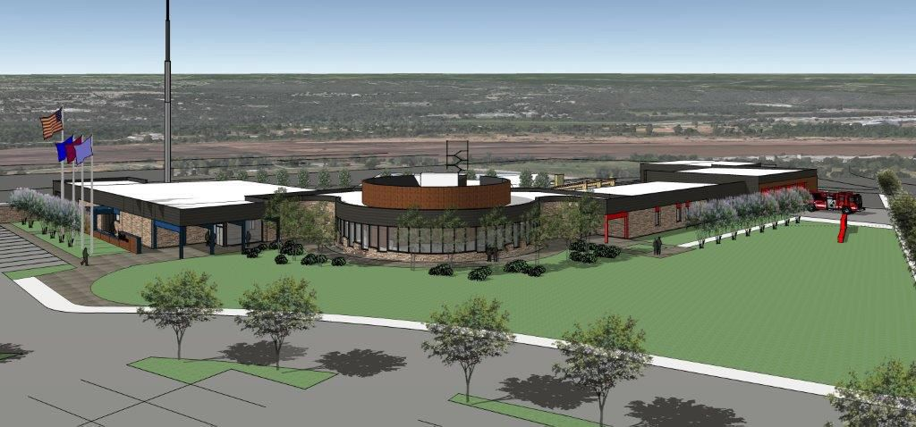 Groundbreaking held for new public safety center in Sand