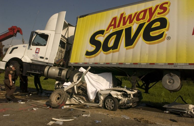 Five years later after i 44 crash that killed 10 for Texas motor vehicle record