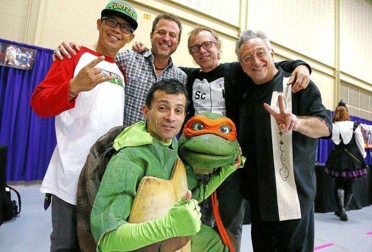 Comic Expo Teenage Mutant Ninja Turtles