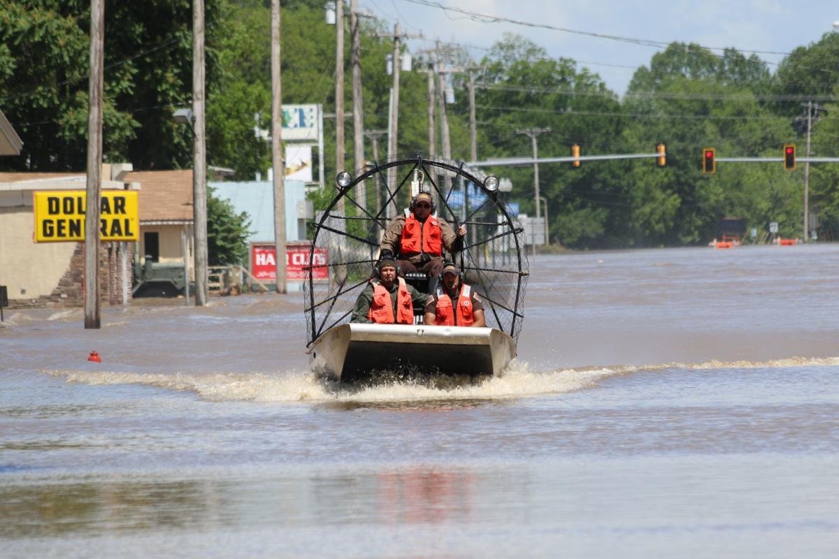 Flooding in Avant, Sperry, Skiatook