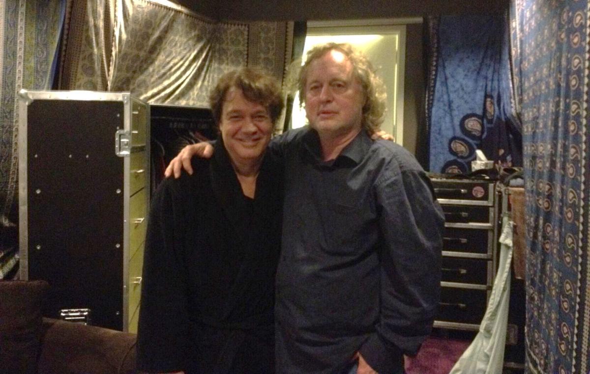 Eddie Van Halen and Steve Ripley