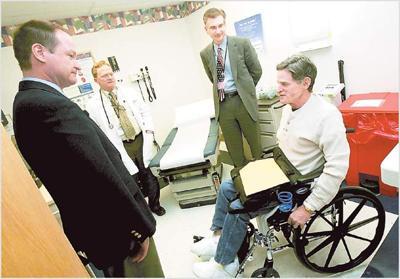 Sullivan tours area VA hospital | Archive | tulsaworld com