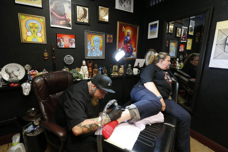 tulsa tattoo parlor holds 24 hour tattooathon for cancer