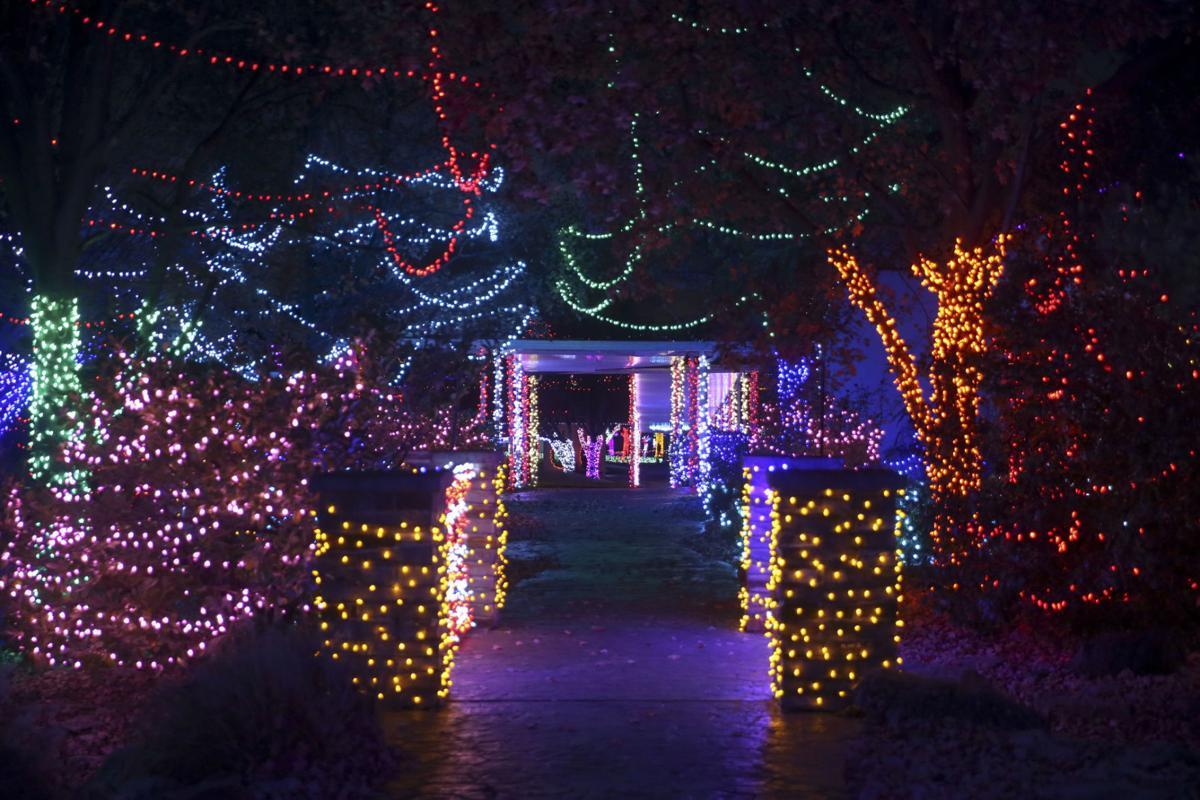 Rhema Christmas Lights.John Klein Lighting Rhema For Annual Christmas Display Is