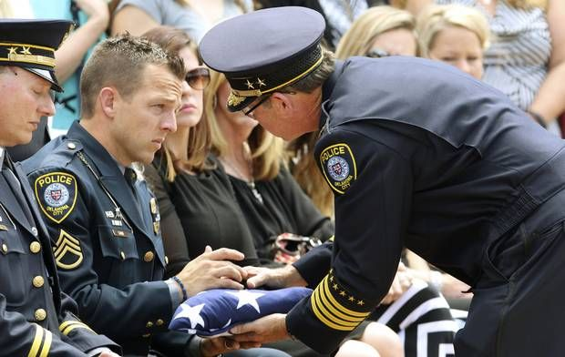 funeral service held for slain oklahoma city police dog state