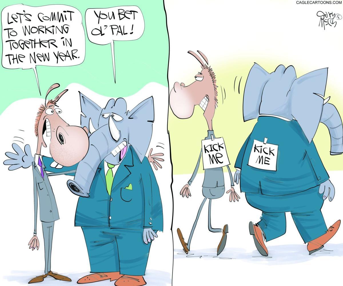 Gary McCoy, Cagle Cartoons