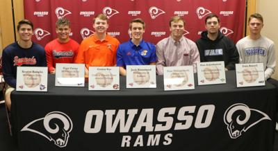 Owasso Baseball Signees