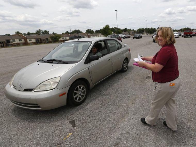 Drivers license testing poteau ok