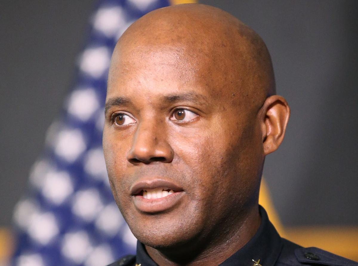 Tulsa Police Chief Wendell Franklin (copy)