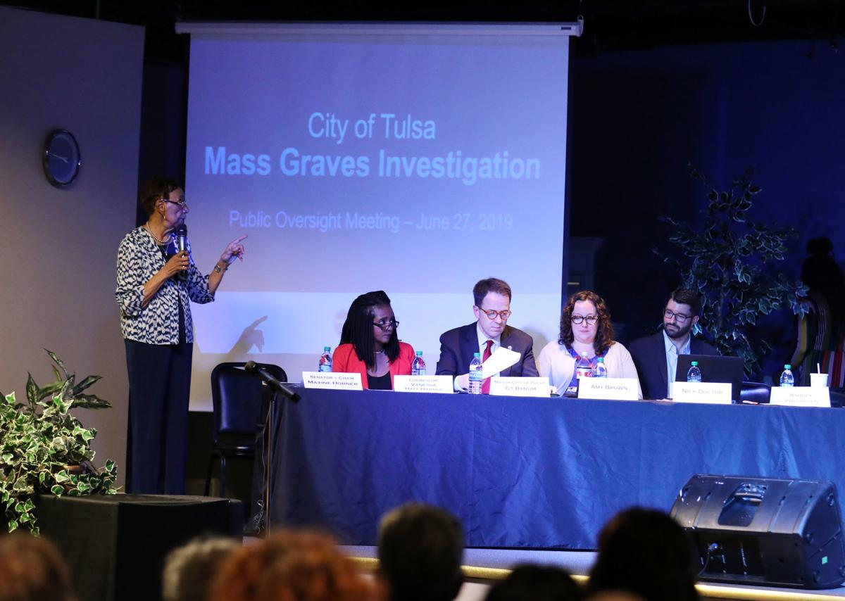 Mass Graves Investigation Public Oversight Committee meeting