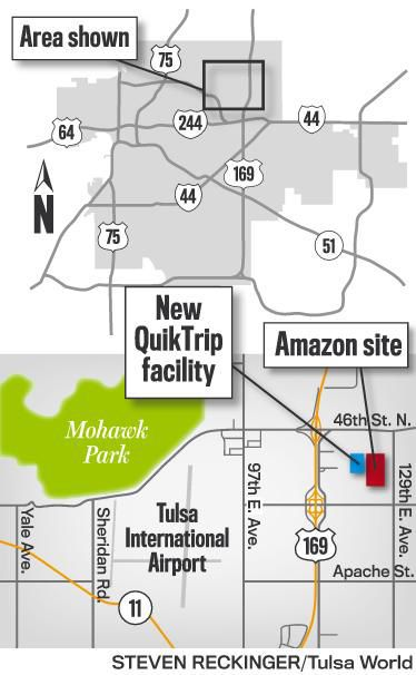 Amazon makes it official: Tulsa to get an order fulfillment
