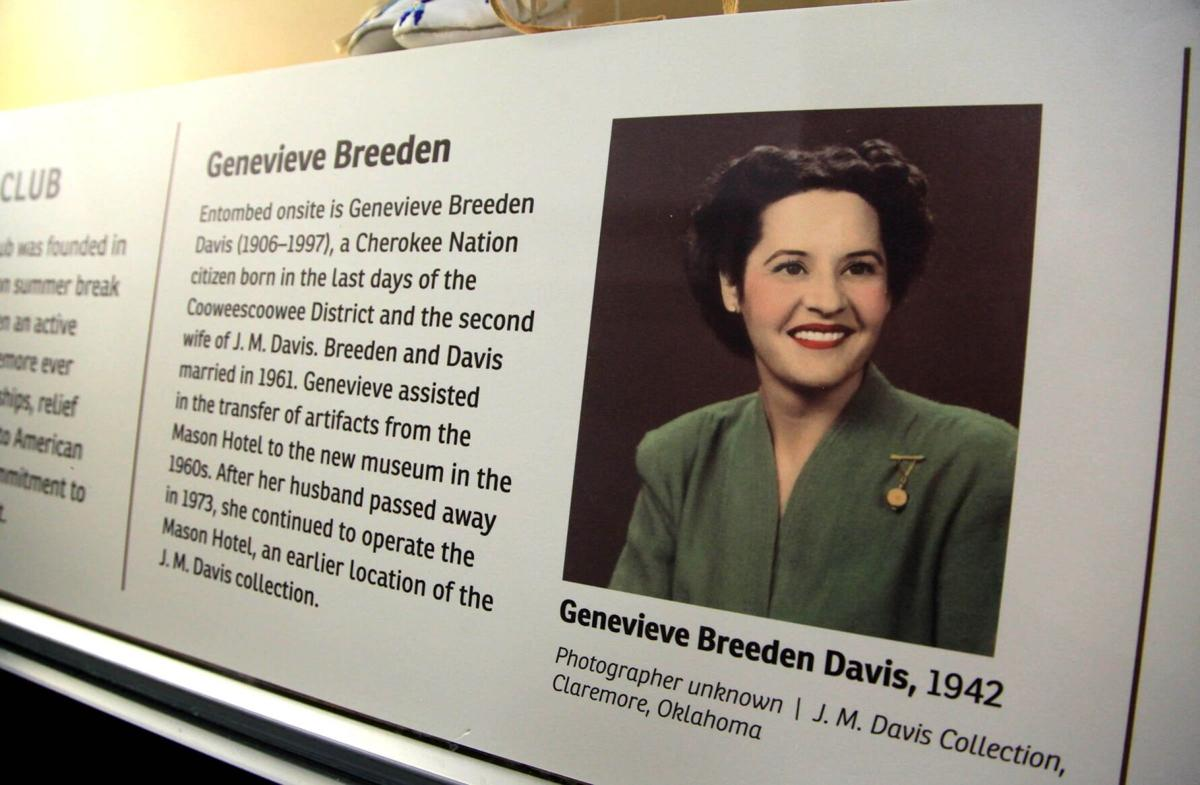 J.M. Davis Cherokee exhibit