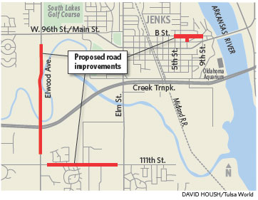Jenks High School Campus Map.Jenks Aims For 11 4 Million In Federal Transportation Funds