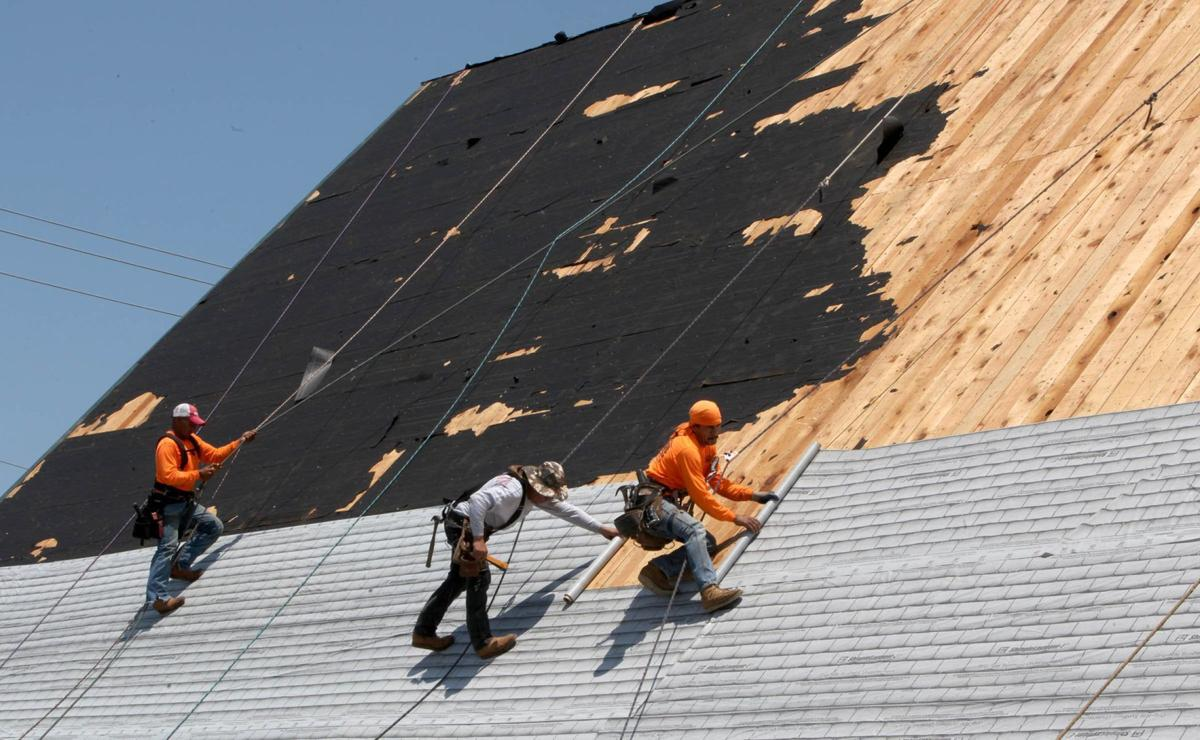 Gallery Roofing Crew Volunteers Tackle 10 000 Square