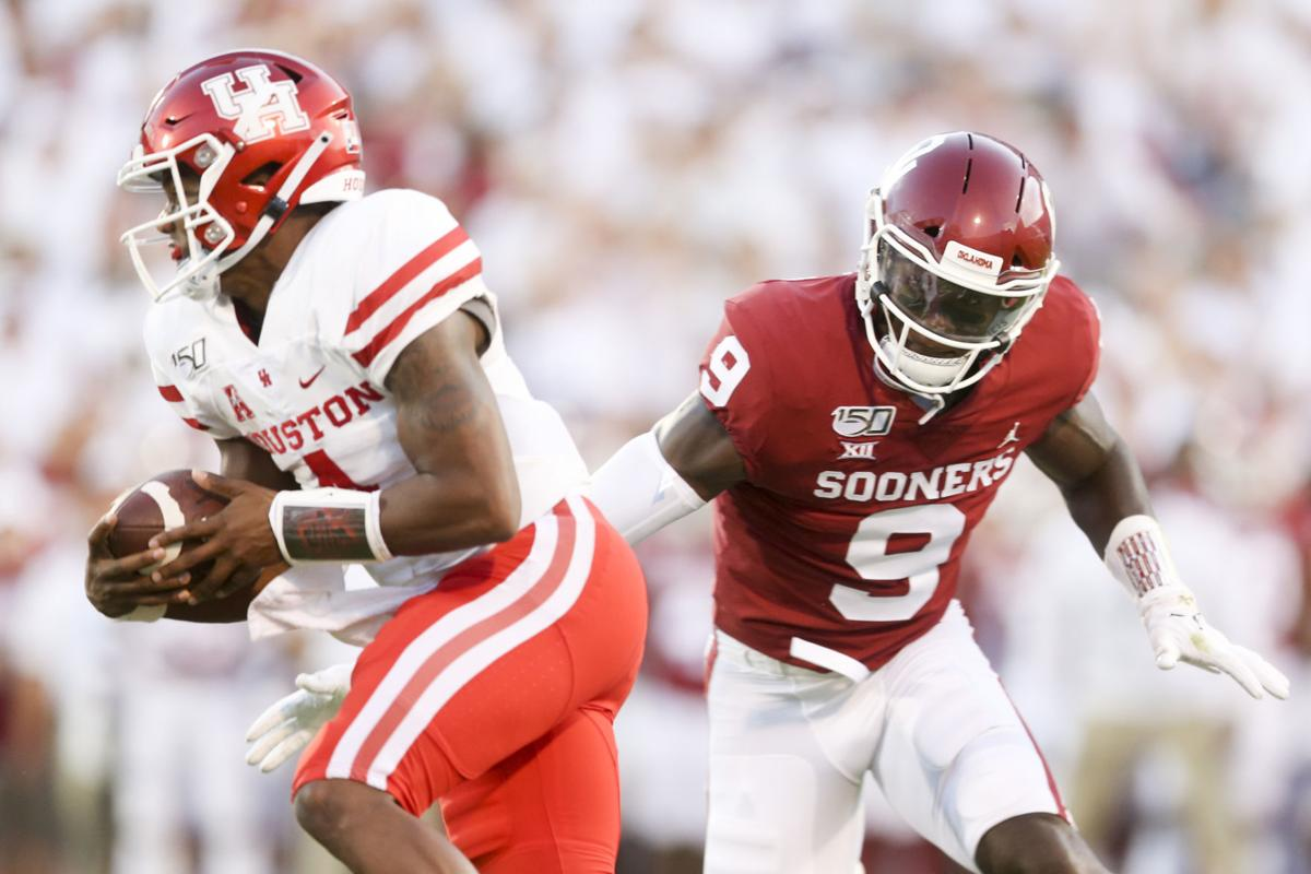 OU football: Linebacker Kenneth Murray is focused on wins ...
