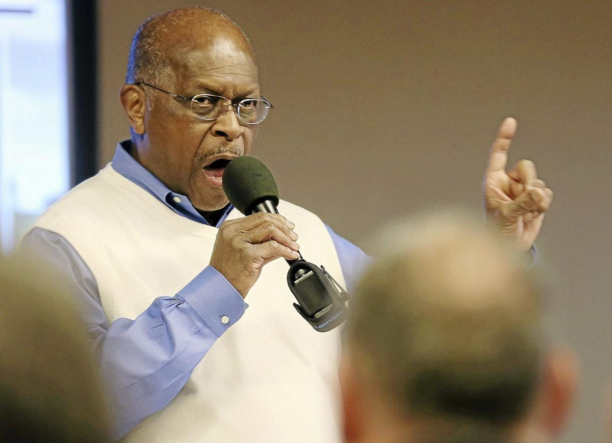 Former presidential candidate Herman Cain, broadcasting live from Tulsa, still has plenty to say ...