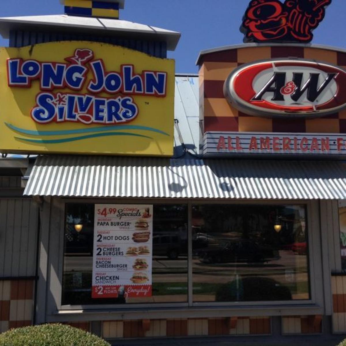 A W Long John Silver S Restaurant On