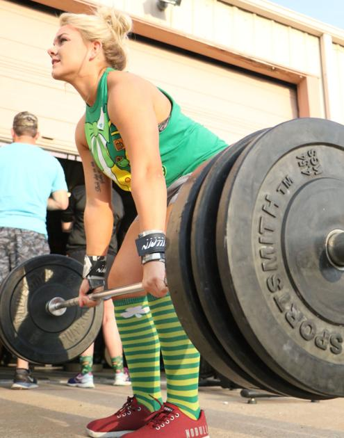 It ain't easy being green: Local gym celebrates St. Patrick's Day for CrossFit Open