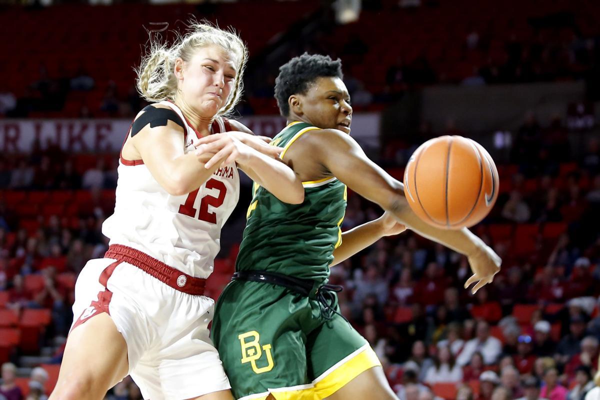 OU vs Baylor Women's basketball