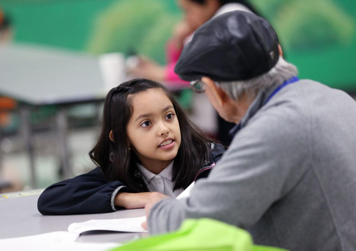 Volunteer retirees \'coaching\' math students at Jackson Elementary ...