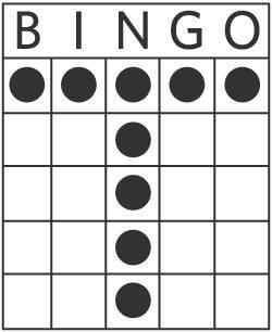 Blazing Hot Bingo letter T