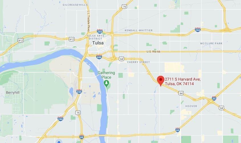 New ALDI location map