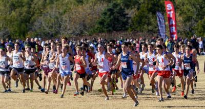 6A/5A state cross country meet at Edmond Santa Fe