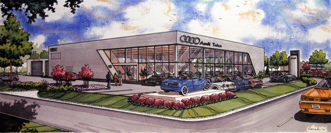 Audi Tulsa To Double Size Of Its Dealership Retail Tulsaworldcom - Audi of tulsa
