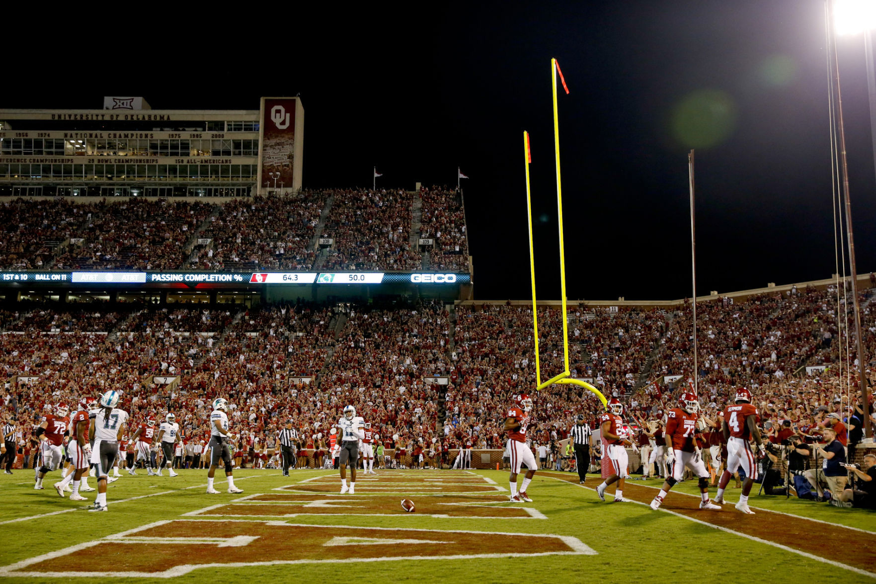 OU Football Program Ranked 3rd Most Valuable in Nation