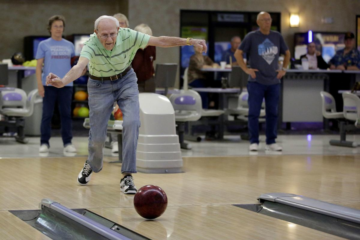 99 year-old bowler