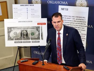 Oklahoma's legislative leaders tell Gov. Stitt his new tribal gaming compacts are invalid