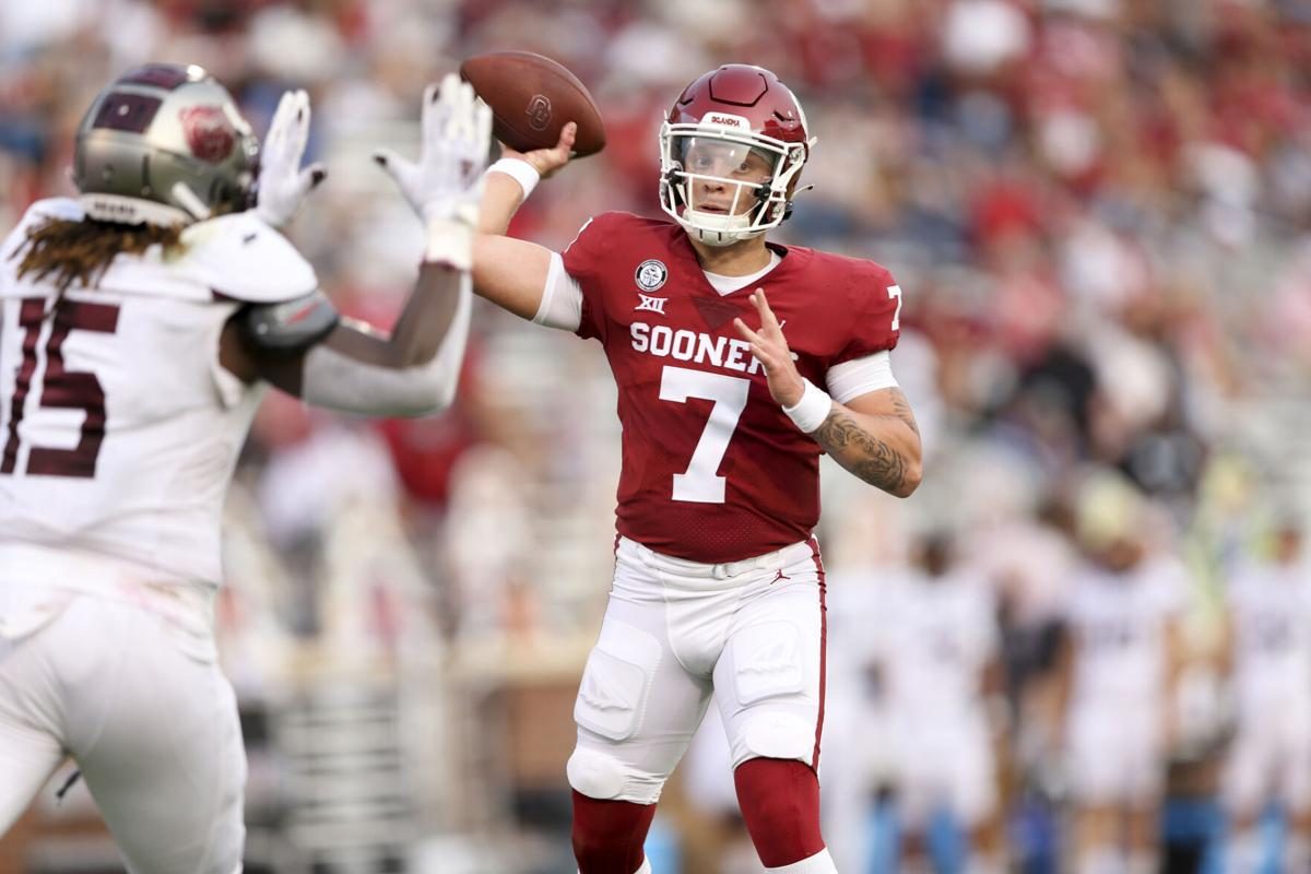 Spencer Rattler prepares to make Red River rivalry debut