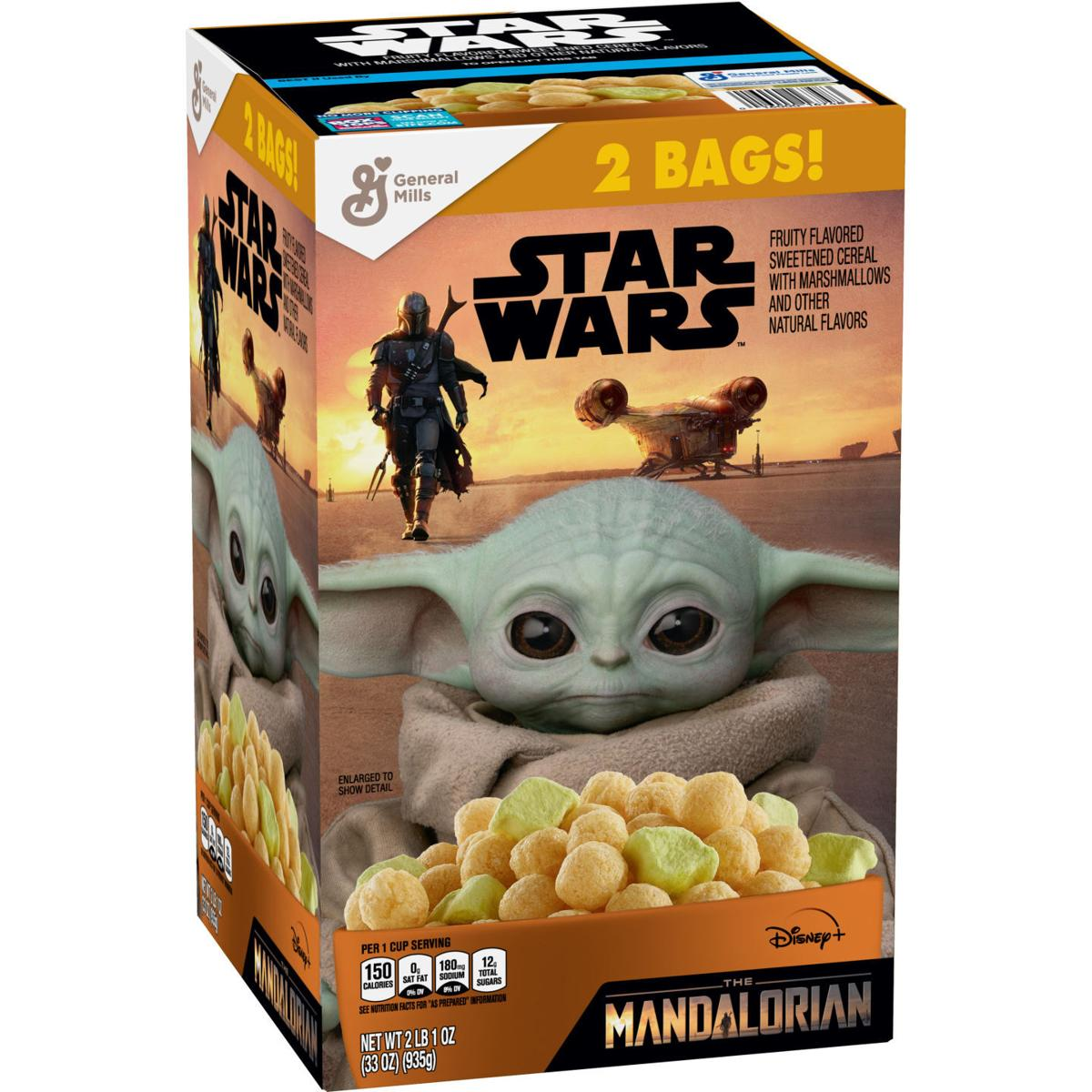 Mandalorian cereal