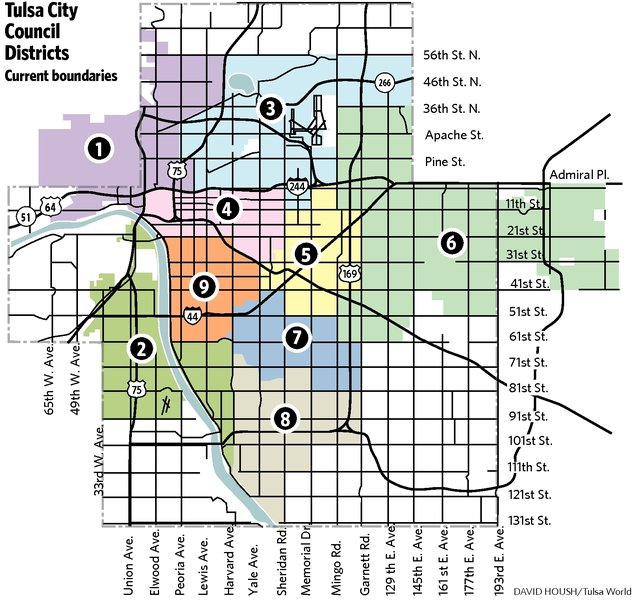 New council district map OK'd
