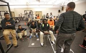 Douglass High School head football coach Willis Alexander newsok