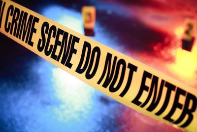 Crime Scene Graphic