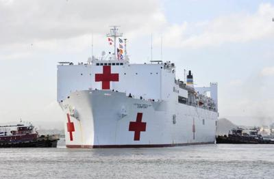 US Navy Hospital Ship to Work in La Brea | Local News