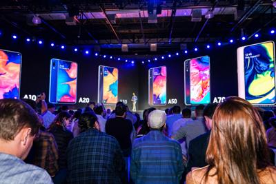 Launch of Galaxy A series