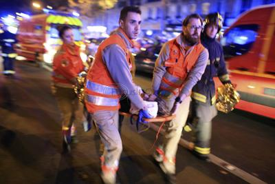 Worst carnage in Paris attacks at Bataclan concert hall featuring American band