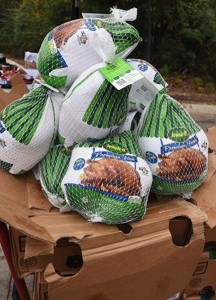 The Grove shows appreciation to teachers with free turkeys