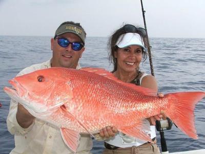 Louisiana fishermen get another weekend of snapper fishing