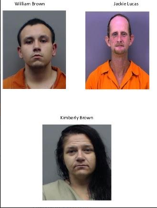 Three suspects arrested in Lindale burglary