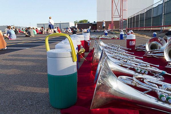 Band Camp/John Tyler, Robert E. Lee keep up beat despite heat
