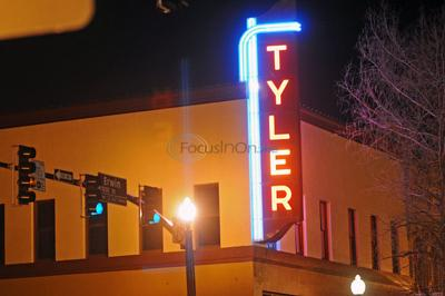Neon Sign Lights Up Downtown Tyler Once