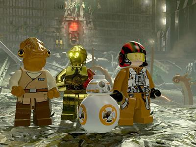 Video game review: 'Lego Star Wars: The Force Awakens' has just enough comedy to get you by