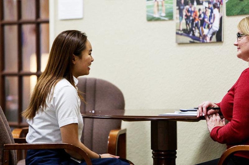 Brook Hill School speech class prepares students for job interviews